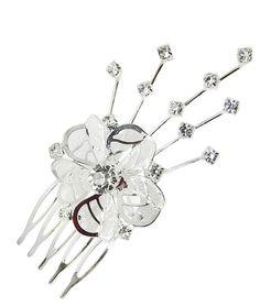 Floare par mireasa cu cristale COD MIR216-a