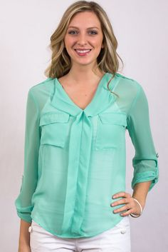 Be Minted Blouse $28
