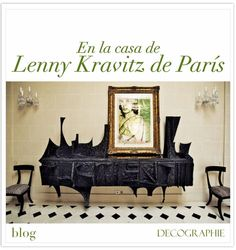 Lenny Kravitz interior design featuring furniture by Paul Evans and an Andy Warhol painting. Interior Design Blogs, Interior Design Inspiration, Furniture Inspiration, Interior Designing, Lenny Kravitz, Buffets, Feng Shui, Brutalist Furniture, Maximalist Interior