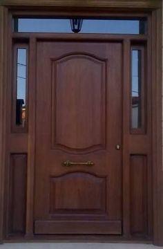 puertas de madera con vidrio - Buscar con Google