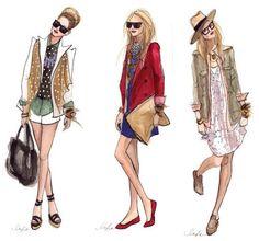fashion style ilustration