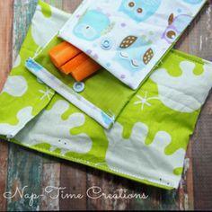 Snack Time DIY Sewn Bag | AllFreeSewing.com
