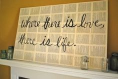 books and literature decor - backdrop for photo booth or to frame a picture of G