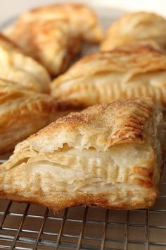 Puff Pastry Apple Turnovers - Cinnamon and Toast