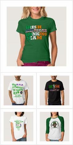 Irish American St Patrick's Day T Shirts