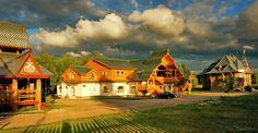 Дома в стиле модерн-деревянный ренессанс