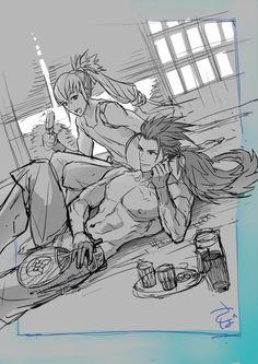 Fire Emblem: If/Fates - Ryoma and Takumi