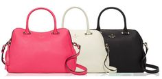 Thursday Purse Day: Charles Street Mini Audrey by Kate Spade