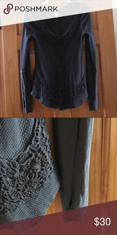 Free people thermal medium Awesome thermal excellent conditions Free People Tops Tees - Long Sleeve