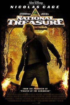 National Treasure, Rated PG.  Tween movie.