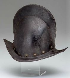 German Peaked Combed Morion Late 16th Early 17th Century.