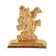 Golden Table Top Hanuman ji