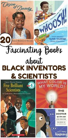 20 Fascinating Books about Black Inventors and Scientists - Kids Audio Books - ideas of Kids Audio Books - Learn about some of the incredible black makers and inventors in history with this list of fascinating books about black inventors and scientists! Audio Books For Kids, Best Children Books, Childrens Books, Children Raising, Black History Books, Black Books, Teaching Reading, Kids Reading, Reading Skills