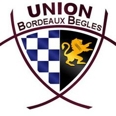 Logo of Union Bordeaux-Bègles Rugby Logo, French Rugby, Exeter Chiefs, Rugby Union Teams, Rugby Championship, Rugby Sport, Challenge Cup, Embroidery