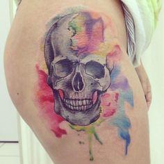 tatuagem tattoo aquarela watercolor inspiration inspiracao - ideia quente (60)