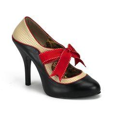 Retro pumps @ http://www.babygirlboutique.com/bordello-shoes-tempt-27.html