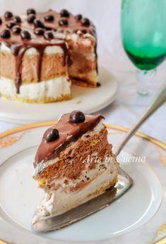 Torta veloce doppio cioccolato e caffè morbida e cremosa vickyart arte in cucina