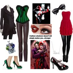 Joker and Harley outfits
