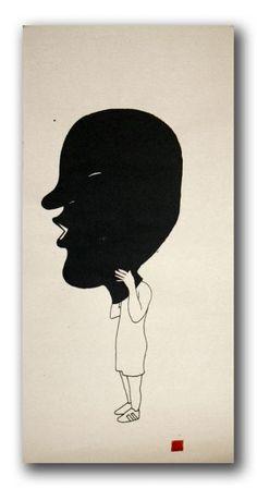 Run - Black Mask
