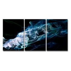 Ready2HangArt Glitzy Mist XXIX Canvas Wall Art Set - SMK34-MWC2412QD