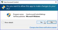 How To Enable/Disable User Account Control (UAC) Prompt In Windows 7, 8/8.1 or Windows 10