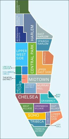 New York City Maps on Pinterest