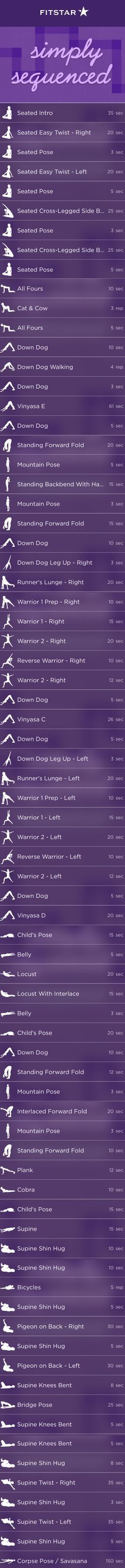 Wake Up or Wind Down with this FitStar Yoga Workout   Fitbit Blog