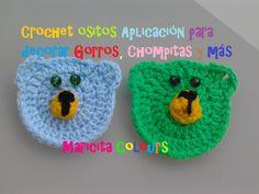 """Crochet Tutorial Osito """"Lucas""""  (Parte 1) Aplicación para Niños por Mari..."""