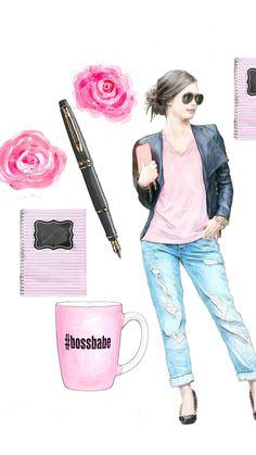 Boss Wallpaper, Mobile Wallpaper, Boss Babe, Girl Boss, Girly, Tech, Angel, Wallpapers, Baby