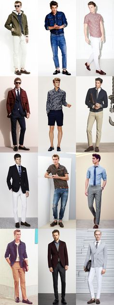 Men's Penny Loafers Outfit Inspiration Lookbook