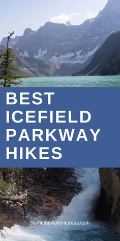 Easy Icefield Parkway Hikes I These easy Icefield Parkway hikes boast expansive mountain views, ice cold glacier lakes, massive glaciers, and stunning waterfalls  I Travel Alberta I Travel Banff I Travel Jasper I Banff National Park I Jasper National Park I Easy Hikes I Hiking with kids I#travelalberta #nationalparks #hikesforkids #easyhike #toddlerhike #hikesforfamilies Family Adventure, Adventure Travel, Banff National Park, National Parks, Solo Travel, Travel Tips, Discover Canada, Glacier Lake, Canada Destinations