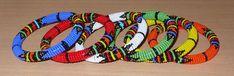 African Zulu bangles - Bracelets africains zoulous (Timeless Fineries)