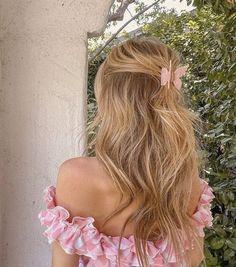 Hair Inspo, Hair Inspiration, Beauté Blonde, Aesthetic Hair, Grunge Hair, Dream Hair, Hair Dos, Pretty Hairstyles, Hair Clips