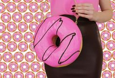 Donut Purse Doughnut Donuts Food Jewelry by rommydebommy on Etsy