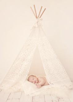 MINI Lace Tee Pee - Banana j Creations
