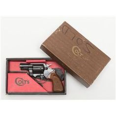 "Colt Detective Special DA revolver, .38 Special cal., 2"" barrel, blue finish, checkered wood grips Loading that magazine is a pain! Get your Magazine speedloader today! http://www.amazon.com/shops/raeind"