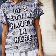 ...and we like it haute!