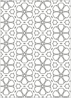 Welcome to Dover Publications Creative Haven Terrific Tessellations Coloring Book