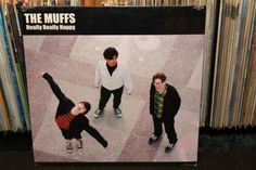 "The Muffs ""Really Really Happy"" SEALED LP, Original 2004 Pressing from Sympathy For The Record Industry, No Barcode, New Old Stock (Indie Garage Rock Vinyl Record)"