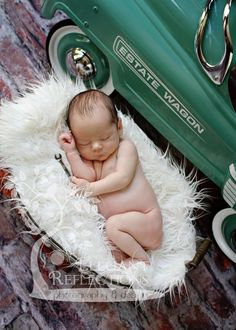 Newborn Baby Boy Mechanic Elegant Reflections Photography and Design