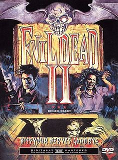 Evil Dead II [PN1997 .E9553 2000]  	The sole survivor of the evil dead returns to the same cabin in the woods and again unleashes the forces of the dead.
