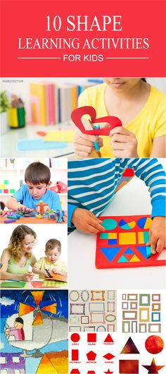 Is your kid getting bored sitting at home and playing with toys? The various shapes activities for kids listed out here would be worth your time. Read through to know more.