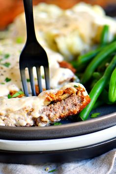 The Ultimate Chicken Fried Steak is fried to golden perfection and topped with the creamiest gravy you can imagine, sure to quickly become a family favorite. It's hard to imagine a more quintessential Southern meal than Chicken Fried. Chicken Fried Steak Gravy, Fried Beef, Steak Recipes, Cooking Recipes, Cuban Recipes, What's Cooking, Yummy Recipes, Chicken Recipes, Whole30 Dinner Recipes