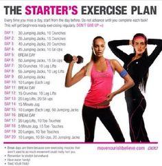 The Beginner's Workout Plan