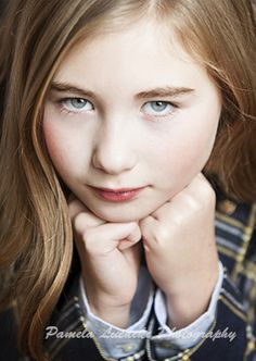 Children's Acting and Modeling Headshot  by Pamela Luedeke Photography