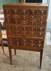 Antique Card Catalog. $600