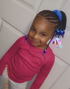 Little Girl Ponytails, Little Girl Braid Hairstyles, Girls Braids, Loose Hairstyles, Braided Hairstyles, Kid Hair, Healthy Hair, Little Girls, Dreadlocks
