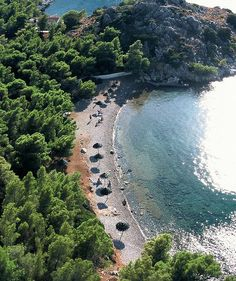 Hydra, Greece. Bisti Beach