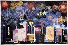 fireworks quilt - Google Search