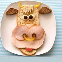 Being creative with food for the kids